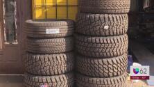 Escasez en llantas afecta a negocios de mecánica de autos en Austin