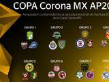 Quedan definidos los grupos de la Copa MX del Apertura 2016