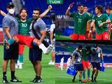Diego Lainez sale lesionado y así festeja con Alexis Vega