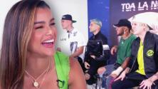 Clarissa Molina pone a sudar a los chicos de CNCO con estas preguntas indiscretas enviadas por sus fans