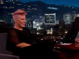 Pink tiene un 'crush' con Johnny Depp
