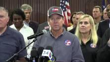 Gobernador de Georgia llama a residentes en la costa a evacuar sus viviendas