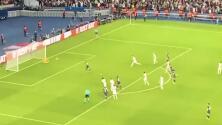 Así celebró la grada el gol 'a lo Panenka' de Messi