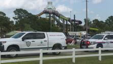 Una sospecha de intoxicación masiva llevó a evacuar repentinamente un parque acuático de Texas