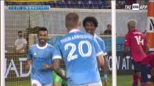 Regreso goleador para el brasileño Talles Mango quien se luce con el empate para New York