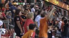 Mauro Manotas cierra la pinza y Houston le da la vuelta al marcador 2-1 sobre Portland