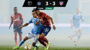¡Latino Power! En explosivo partidazo a goles, NYCFC y Dallas igualaron