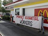 Baleados empleados de un McDonald's: aumenta la violencia contra trabajadores que exigen a clientes respetar restricciones