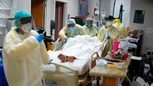 Florida rompe récord de hospitalizaciones por coronavirus este domingo