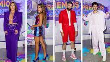Fotos: así fue la llegada de los famosos a la alfombra de Premios Juventud
