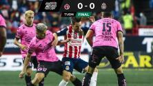 Chivas empata con Xolos y deja puntos de cara a la Liguilla