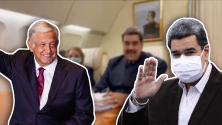 Nicolás Maduro presume viaje a México (mientras EEUU pone recompensa por su captura) y AMLO es criticado