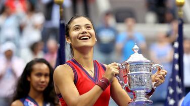 Emma Raducanu se corona en el US Open y establece varios récords
