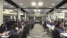 Al menos 900 estudiantes asistieron a la Feria de Trabajo liderada por la Alcaldía de Dallas