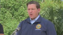 Gobernador de Florida anuncia el plan de contingencia ante la llegada del huracán Dorian