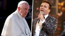 Cristian Castro comparte su felicidad por poder cantarle al papa Francisco en el Vaticano
