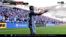 Carlos Darwin Quintero humilla al portero y Minnesota United empata el marcador