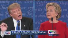 Análisis del primer debate presidencial