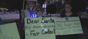 Marcha el sindicato de maestros de Stockton por un salario justo