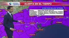 Se mantiene alerta por congelación en Houston
