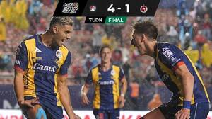 Atlético San Luis receta lluvia de goles a Tijuana