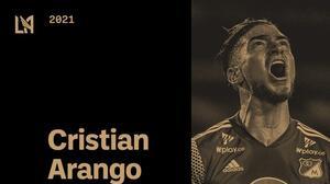 LAFC ficha al delantero colombiano Cristian Arango