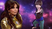 Thalía se 'pelea' con su hijo en un video que parece de otro planeta