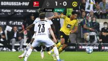 Borussia Dortmund no pudo sin Haaland ante el Monchengladbach