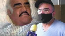Vicente Fernández Jr. explica por qué no se reveló que su papá tiene el síndrome de Guillain-Barré