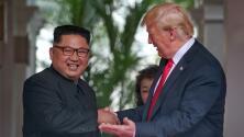 De insultos y amenazas a sonrisas: cómo Donald Trump y Kim Jong Un llegan a reunión en Singapur