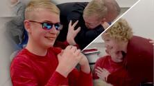 Niño rompe en llanto al ver los colores por primera vez en su vida