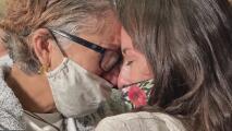 Emotivo reencuentro en Houston: dreamer a la que le negaron la entrada a EEUU pudo regresar y ver a su familia