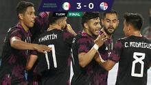 México derrota a Panamá y cierra preparación