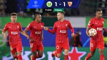 Resumen   Rakitic rescata agónico empate ante Wolfsburg