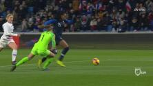 ¡Sentenciado! Francia marcó el 3-0 y finiquitó el encuentro