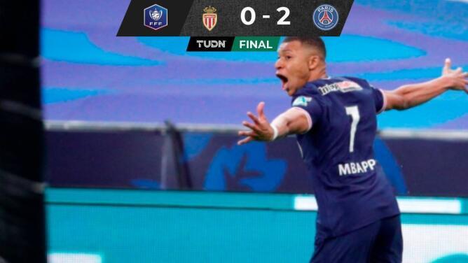 París Saint-Germain se consagra campeón de la Copa de Francia