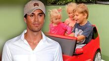 La enternecedora reacción de los hijos de Enrique Iglesias y Ana Kournikova al ver a sus papás en el video de 'Escape'
