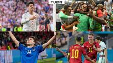 ¿Dónde ver Suiza vs. España y Bélgica vs. Italia de la Euro 2020?