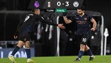 Manchester City no tiene contemplaciones ante el Fulham