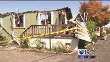 Las zonas más afectadas por el sismo en Napa