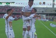 ¡Recompensa! Arturo Ortíz logra el gol del 1-0 para Pumas
