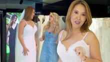 """Rumbo a la boda de Tanya, Daniela di Giacomo la llevó a buscar su vestido de novia con mucho """"bling, bling"""""""