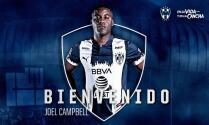 ¡Tico Rayado! Joel Campbell es refuerzo de Monterrey