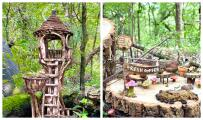 Conoce el parque de Austin que tiene un sendero hacia un bosque de hadas