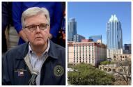 Vicegobernador de Texas dice que Austin es 'una de las ciudades más peligrosas de Estados Unidos'
