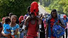 Desde el norte de Chile hasta EEUU: así es la larga travesía de miles de haitianos que buscan lograr el sueño americano