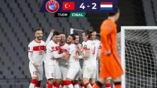 Turquía golea a Holanda en inicio de Eliminatoria a Catar 2022