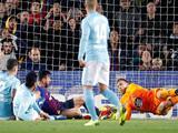 Néstor Araujo poco pudo hacer en caída de Celta de Vigo en Barcelona