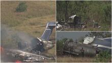 Así avanzan las investigaciones para determinar las causas del accidente aéreo en el condado Waller