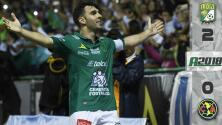 León 2-0 América - RESUMEN Y GOLES – Apertura 2018 Liga MX